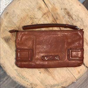 Cognac cole Haan wallet